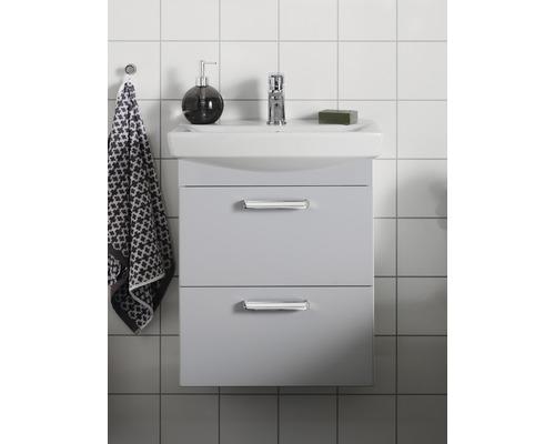 Tvättställsskåp HAFA Life 600 M ljusgrå med lådfront