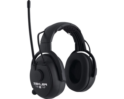 ZEKLER Hörselkåpor 412R FM stereo radio