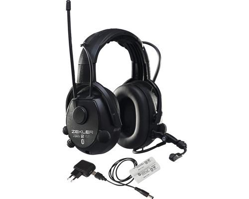 ZEKLER Hörselkåpor 412RDB inkl batteri och laddare