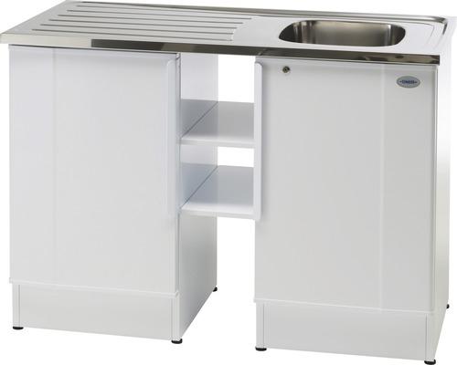 Tvättbänk Nimo NB 1200 TMSK 1200x600x900 mm vit höger