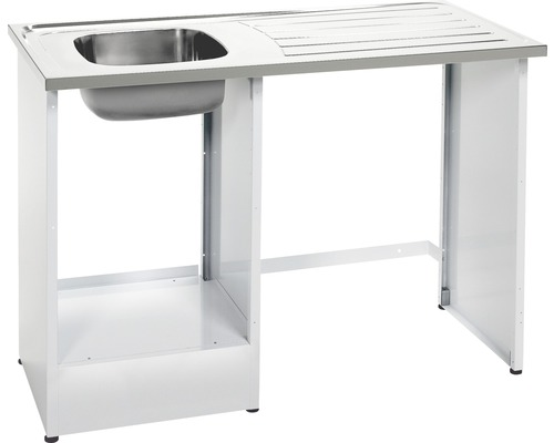 Tvättbänk Nimo NB 1200 MB D11 1200x600x900 mm vit vändbar