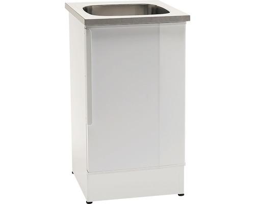 Tvättbänk Nimo NB 500L 500x600x900 mm vit