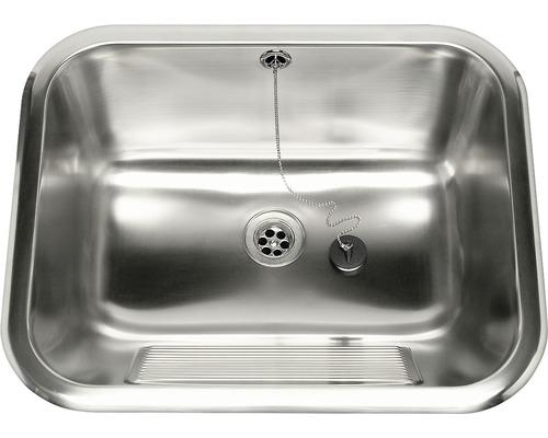 Tvättlåda Nimo TL50 för inbyggnad 555x455x230 mm inkl. fästen och vippventil