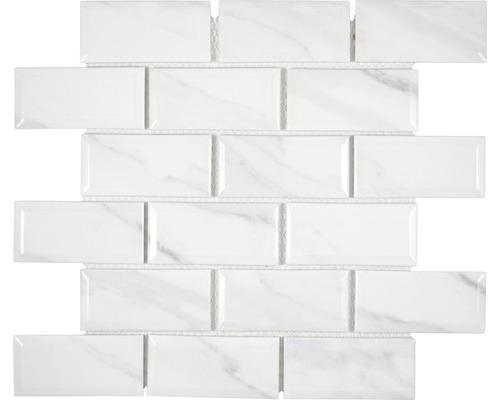 Mosaik Metro 29,1x29,55 cm Carrara