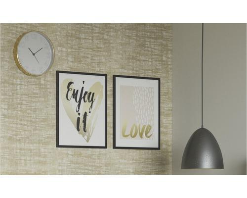 Taklampa EGLO Safi brun/guld-färgad en ljuskälla Ø 275mm