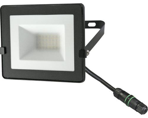 Strålkastare LED IP65 20W 1600lm 4000K neutralvitt höjd 120mm svart