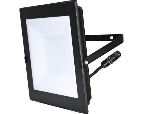 Strålkastare LED IP65 100W 7500lm 4000K neutralvitt h 290mm svart