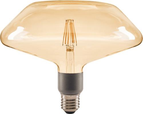 FLAIR LED-lampa E27/4,5W(40W) DC200 dimbar amber 470 lm 2000 K varmvit
