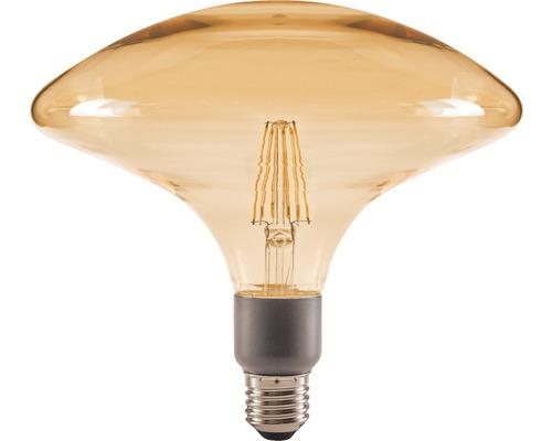 FLAIR LED-lampa E27/4,5W(40W) GA200 dimbar amber 470 lm 2000 K varmvit