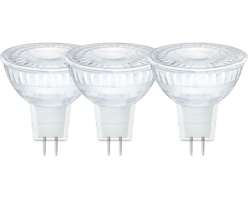Reflektorlampa LED GU5.3/5,5W(35W) 345lm 2700K varmvit 3st