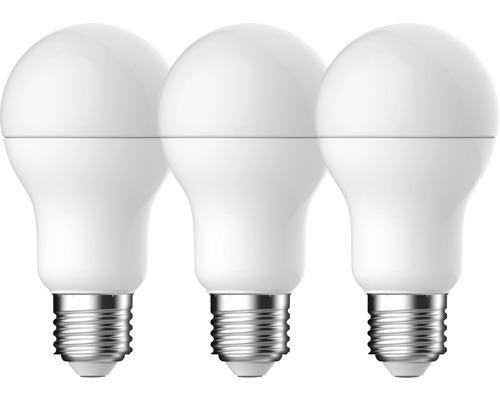 Klotlampa LED A60 vit E27/14W(100W) 1521lm 2700K varmvit 3st