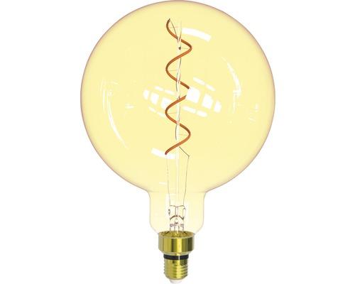 FLAIR LED-globlampa E27/4W(25W) G200 amber 245 lm 1800 K varmvit
