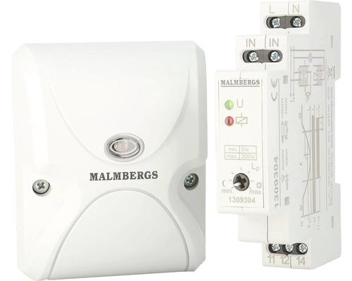 Ljusrelä MALMBERGS för väggmontage 230V AC, 50/60Hz