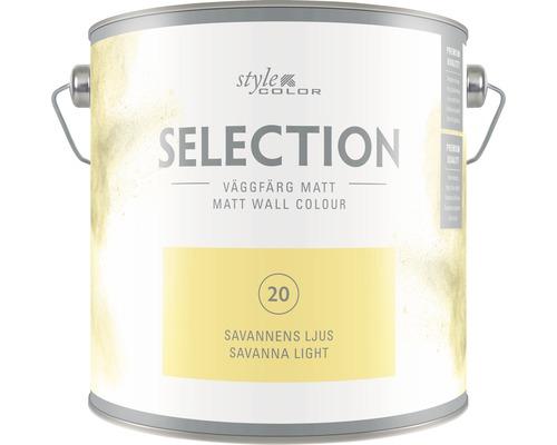 HORNBACH Style Color glansgrad 3 nr 20 Savannens ljus 2,5 l