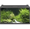Akvarium EHEIM Aquapro LED 126 med LED-belysning, värmare, filter, fångnät, termometer, foder utan underskåp svart