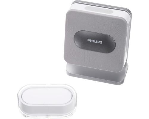 PHILIPS trådlös dörrklocka Welcome Bell 300 MP3 med tryckknapp