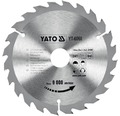 Cirkelsågklinga YATO HM 184x3,2x30mm 24 T