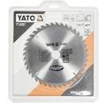 Cirkelsågklinga YATO HM 210x3,2x30mm 40 T