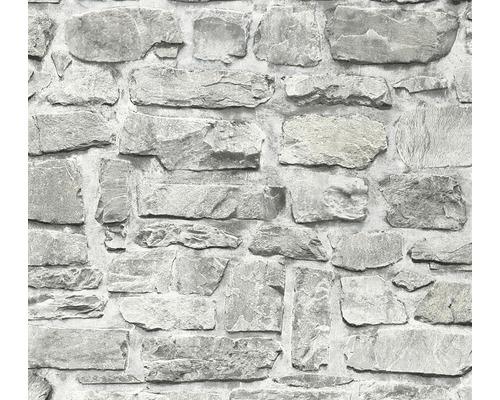 Tapet A.S. CRÉATION decor sten grå 36370-1