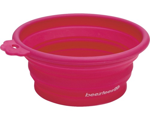 Resematskål BEEZTEES silikon 250ml pink