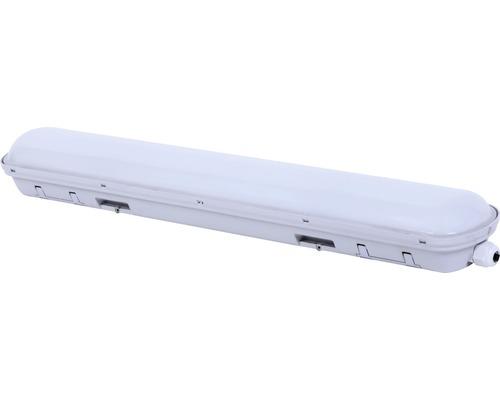 Våtrumsarmatur LUMAK PRO 1x28W 2500lm 4000K neutralvit L 600mm IP65 vit