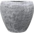 Blomkruka LAFIORA Felia konstgjord sten Ø59x51cm ljusgrå