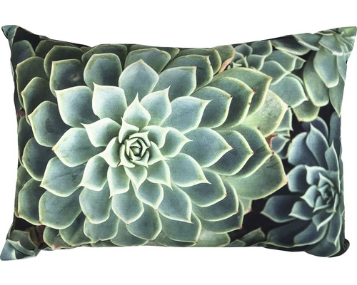 Kudde SOLEVITO Planta grön 35x50cm
