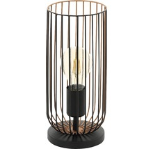 Bordslampa EGLO ROCCAMENA 60W E27 svart/koppar