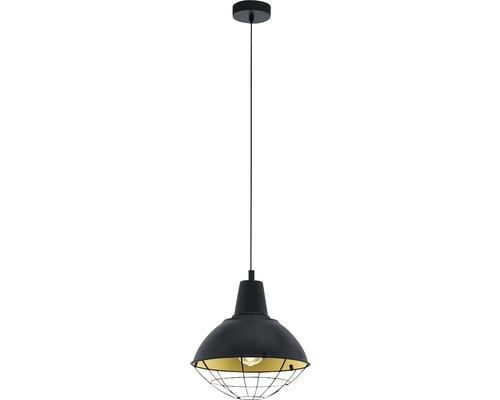 Taklampa EGLO CANNINGTON 60W E27 svart/guld