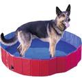 Hundpool DOBAR strl L Ø160cm röd/blå