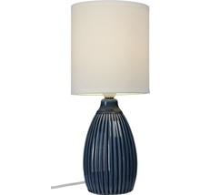 COTTEX Bordslampa Trivial 1x40W blå E14 Ø140mm