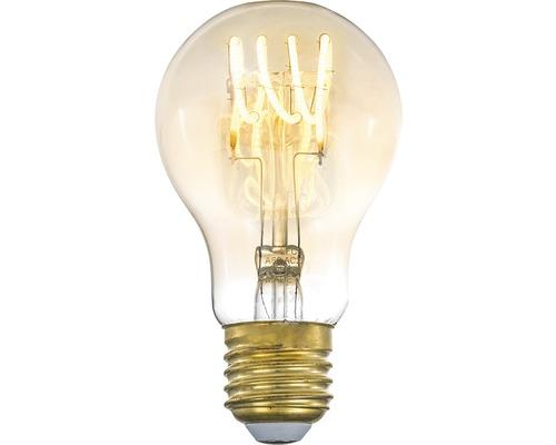 COTTEX LED-lampa Curly filament amber E27 4W 250lm stepdim