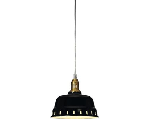 COTTEX Fönsterlampa Pot 1x40W svart E14 Ø180mm