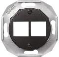 SCHNEIDER Renova Centrumplatta Actassi 2x8polig svart 5102293