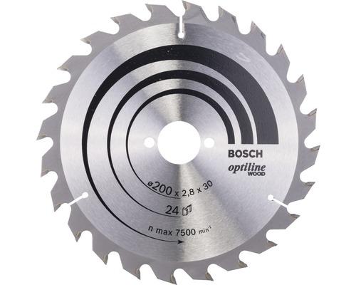 Cirkelsågklinga BOSCH Optiline Wood Ø 200x30mm Z 24