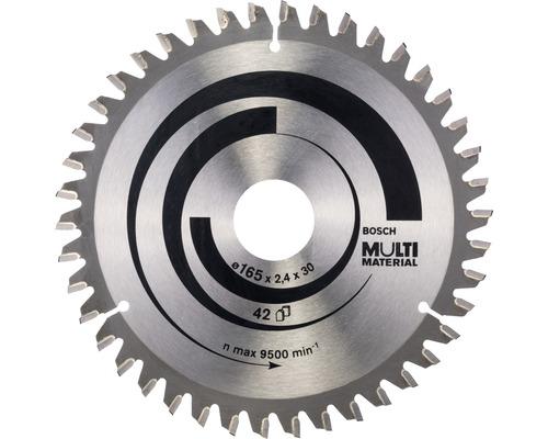 Cirkelsågklinga BOSCH Multi Material Ø 165x30mm Z 42