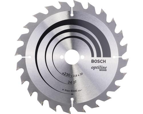 Cirkelsågklinga BOSCH Optiline Wood Ø 230x30mm Z 24