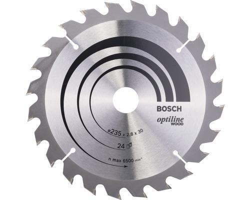 Cirkelsågklinga BOSCH Optiline Wood Ø 235x30mm Z 24