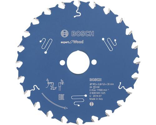Cirkelsågklinga BOSCH Expert for Wood Ø 165x30mm Z 24