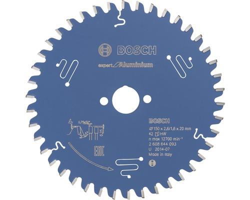 Cirkelsågklinga BOSCH Expert for Aluminium Ø 150x20mm Z 42