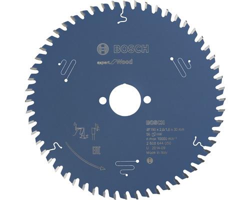 Cirkelsågklinga BOSCH Expert for Wood Ø 190x30mm Z 56
