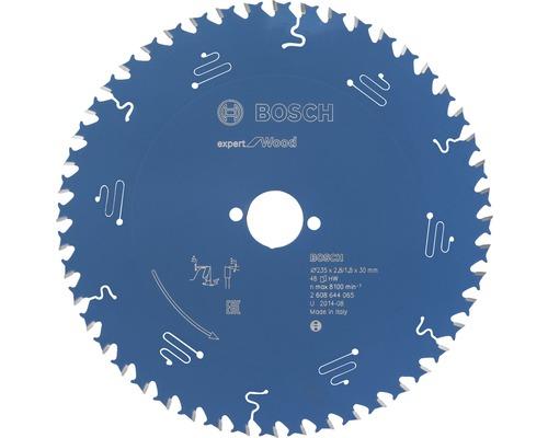 Cirkelsågklinga BOSCH Expert for Wood Ø 235x30mm Z 48