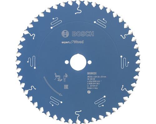Cirkelsågklinga BOSCH Expert for Wood Ø 230x30mm Z 48