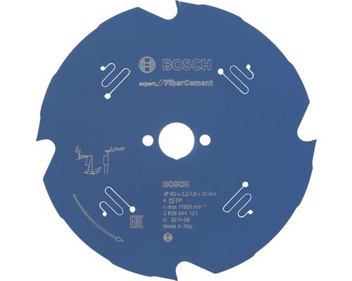 Cirkelsågklinga BOSCH Expert for Fiber Cement Ø 160x20mm Z 4