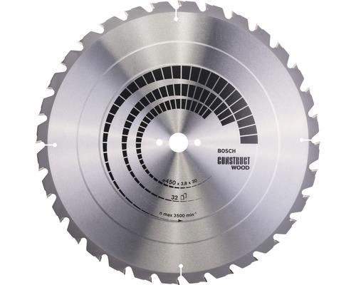Cirkelsågklinga BOSCH Construct Wood Ø 450x30mm Z 32