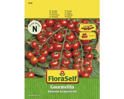 Grönsaksfrö FLORASELF Tomat Gourmelito