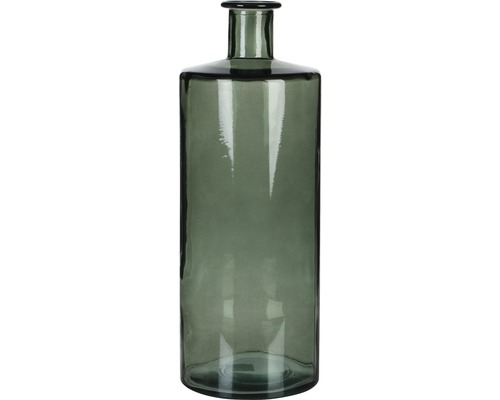 Glasflaska MICA Guan Ø15x40cm grå