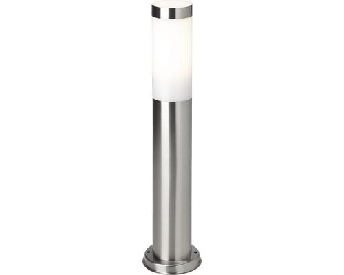 Grindlykta LALUMI Dody rostfritt stål/vit