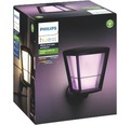 Vägglykta PHILIPS Hue Econic White & Color Ambiance 15W 1150lm H 301mm svart - kompatibel med SMART HOME by hornbach