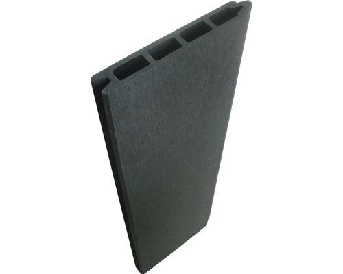 Staketpanel KONSTA för staketsystem WPC 177x15cm antracit
